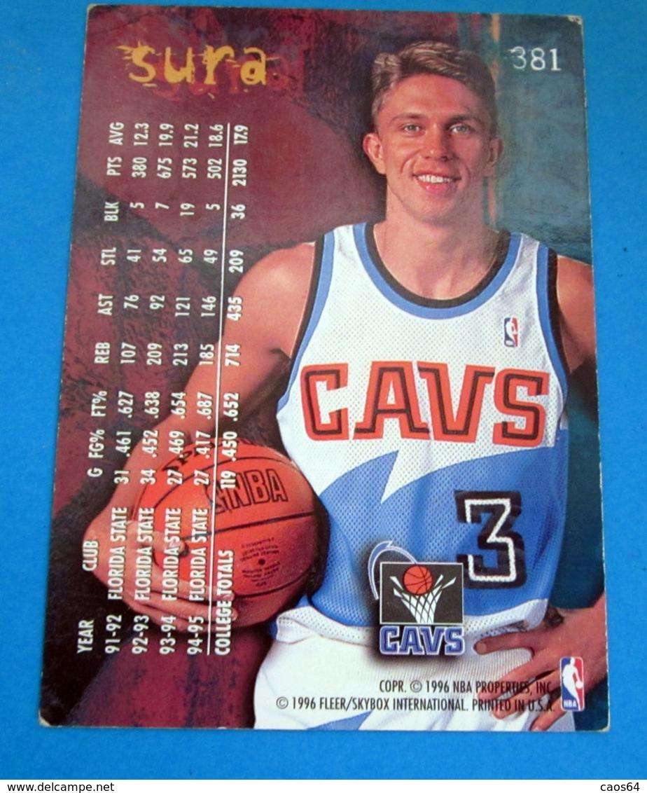 ROOKIE SURA   CARDS NBA FLEER 1996 N 381 - Trading Cards