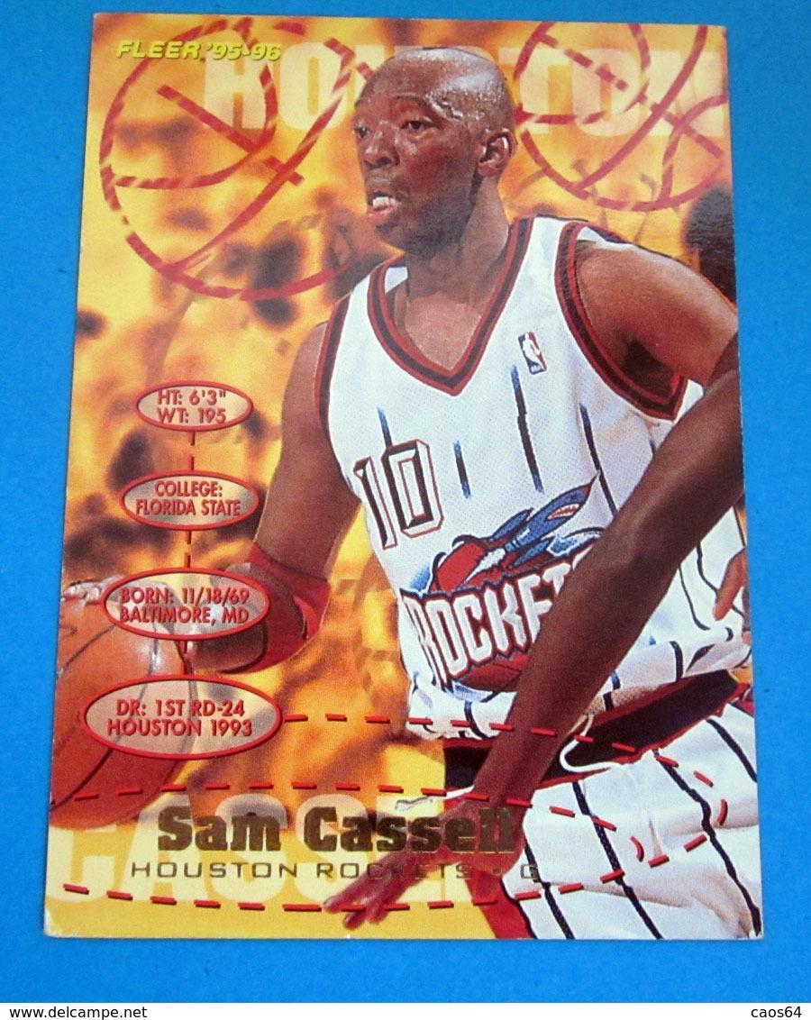 SAM CASSELL   CARDS NBA FLEER 1996 N 289 - Trading Cards
