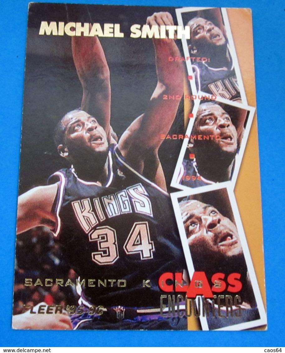 MICHAEL SMITH   CARDS NBA FLEER 1996 N 448 - Altri