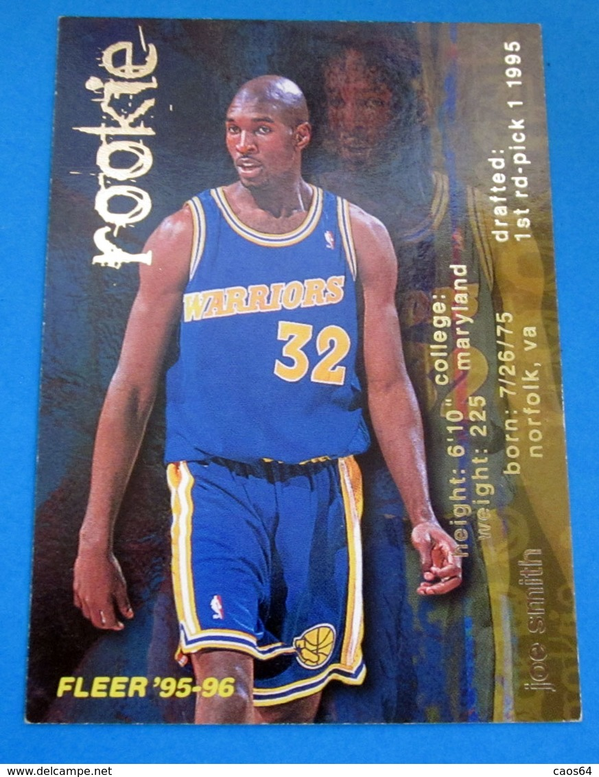 JOE SMITH   CARDS NBA FLEER 1996 N 378 - Trading Cards