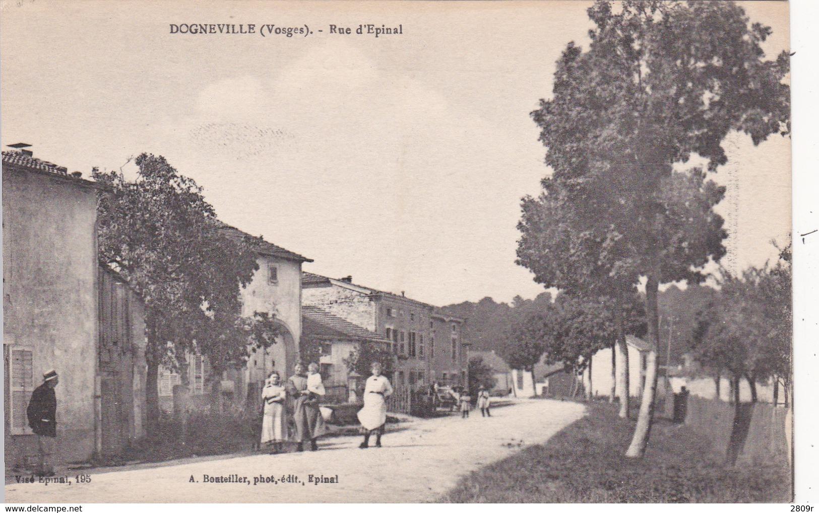 Dogneville Lot De 2 Cartes - Autres Communes