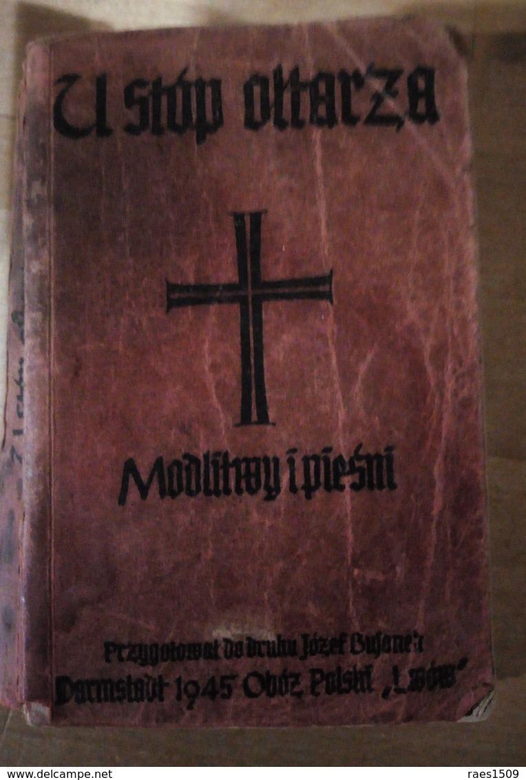 Ancienne Bible Polonaise Militaire 1945 - War 1939-45