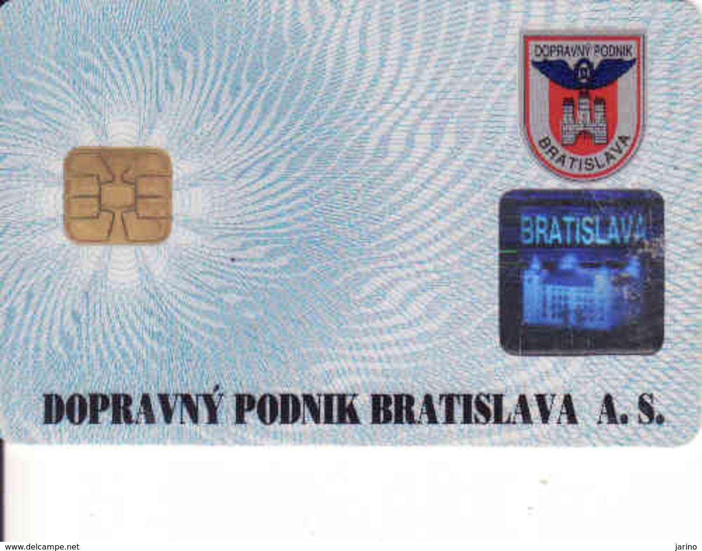 Slovakia - Slovaquie, Transport Chip Card Bratislava,  Gebraucht-oblitérée - Motori