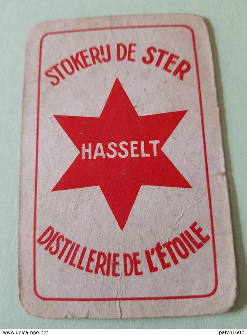 Distillerie De L'étoile  Hasselt Une Carte à Jouer Jeu Cartes - Speelkaarten