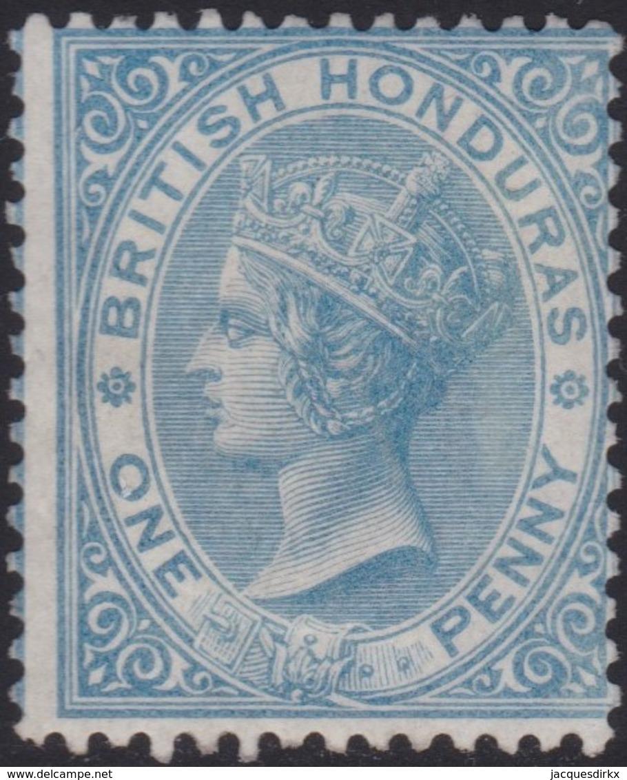 British  Honduras      .   SG     .    1      .      *       .   Ongebruikt      .   /    .  Mint-hinged - Brits-Honduras (...-1970)
