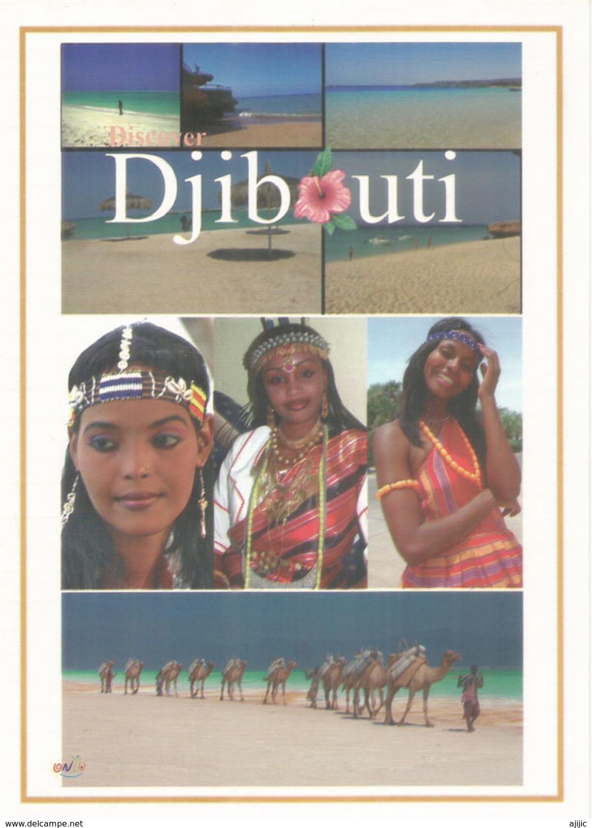 Les Beaux Visages De Djibouti, Belle Carte Postale Format 20 X 14 Cm , Neuve, Non Circulée - Afrique
