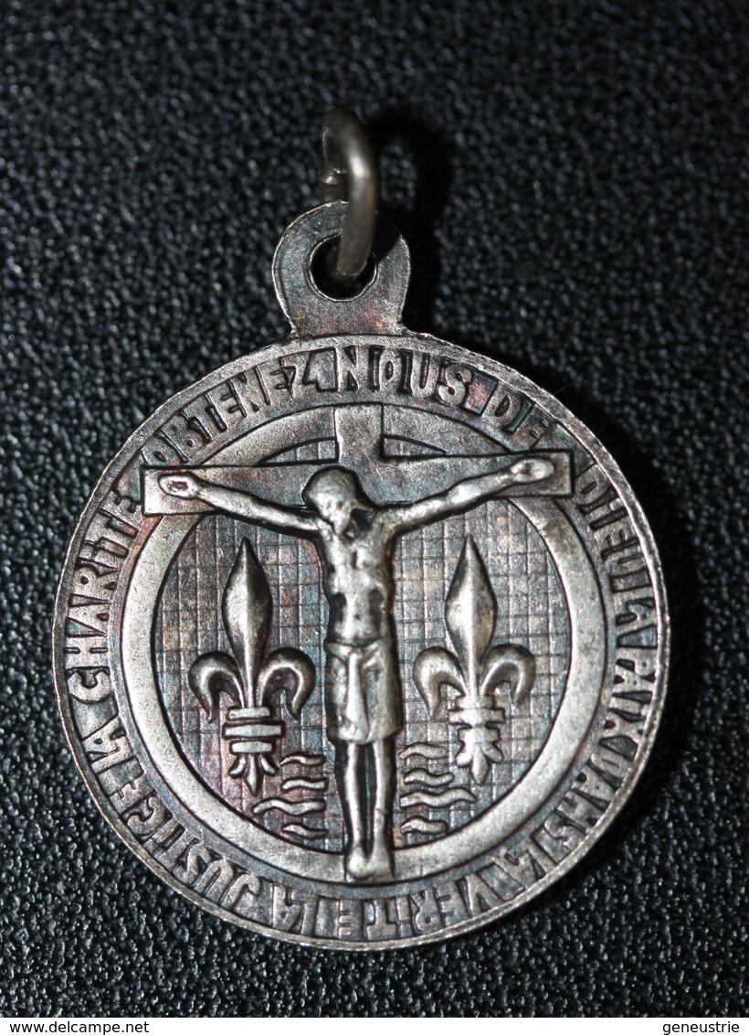 """Pendentif Médaille Religieuse """"Notre-Dame Du Grand-Retour"""" Boulogne-sur-Mer - Religious Medal - Religion & Esotérisme"""