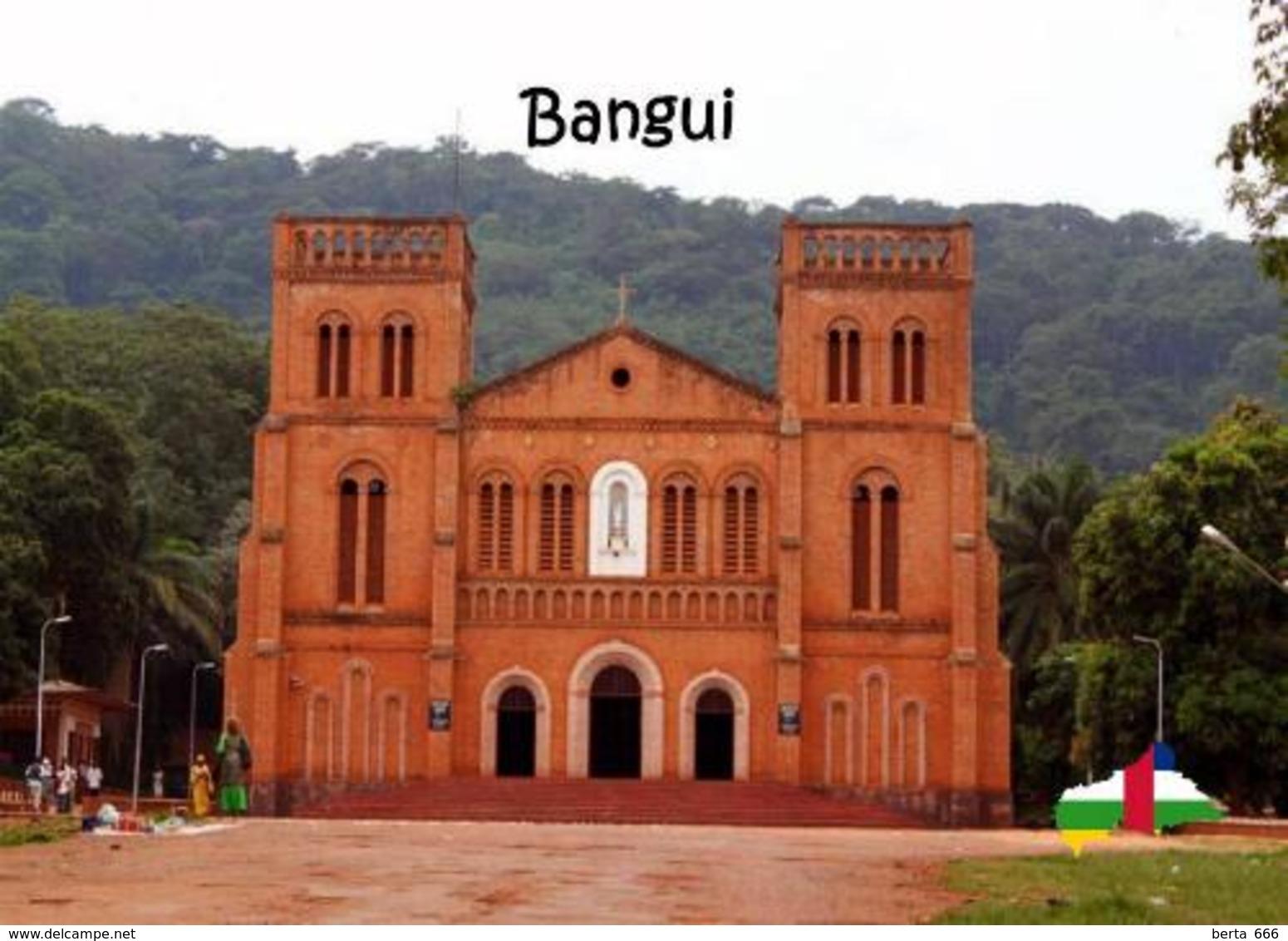 Central African Republic Bangui Cathedral New Postcard Zentralafrikanische Republik AK - Central African Republic