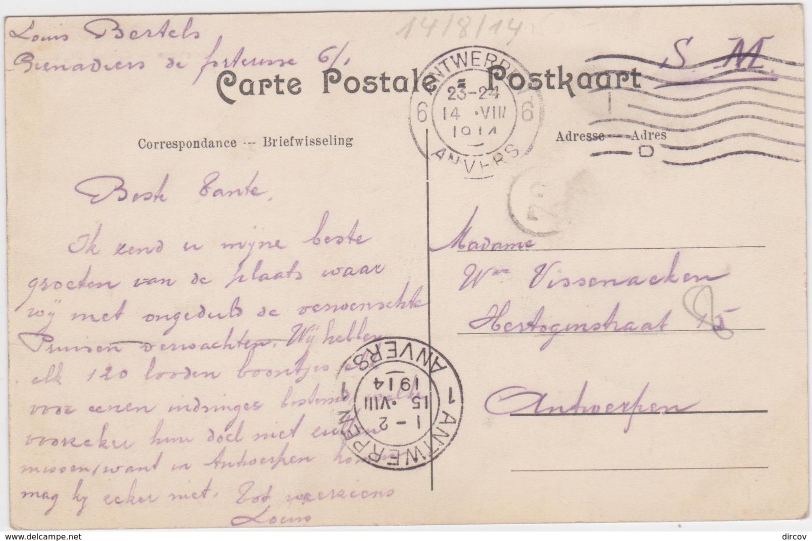 Ranst - Deelgemeente Broechem - Kasteel Olga - Ranst