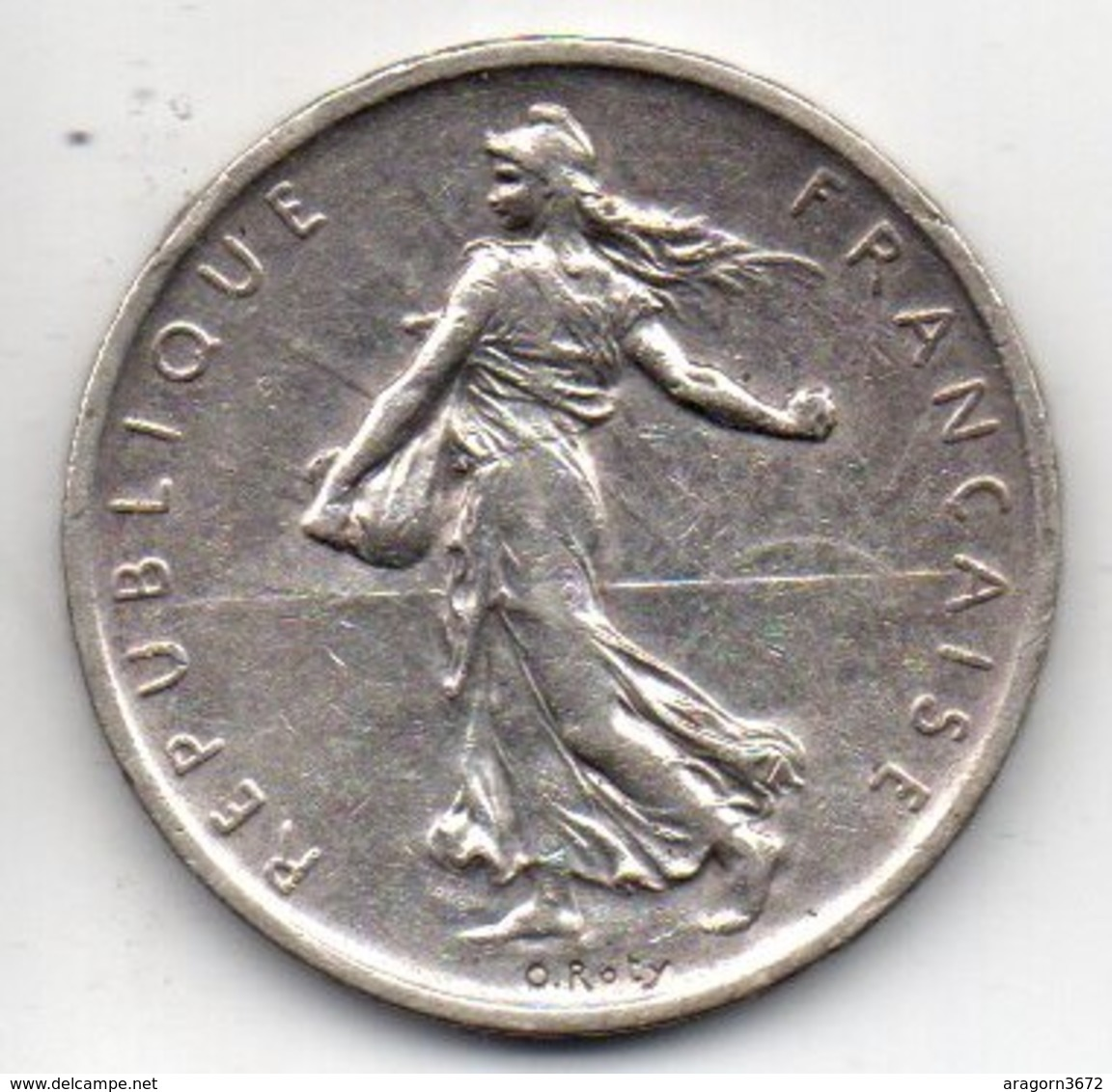 5 Fr Semeuse De 1960 Argent - France