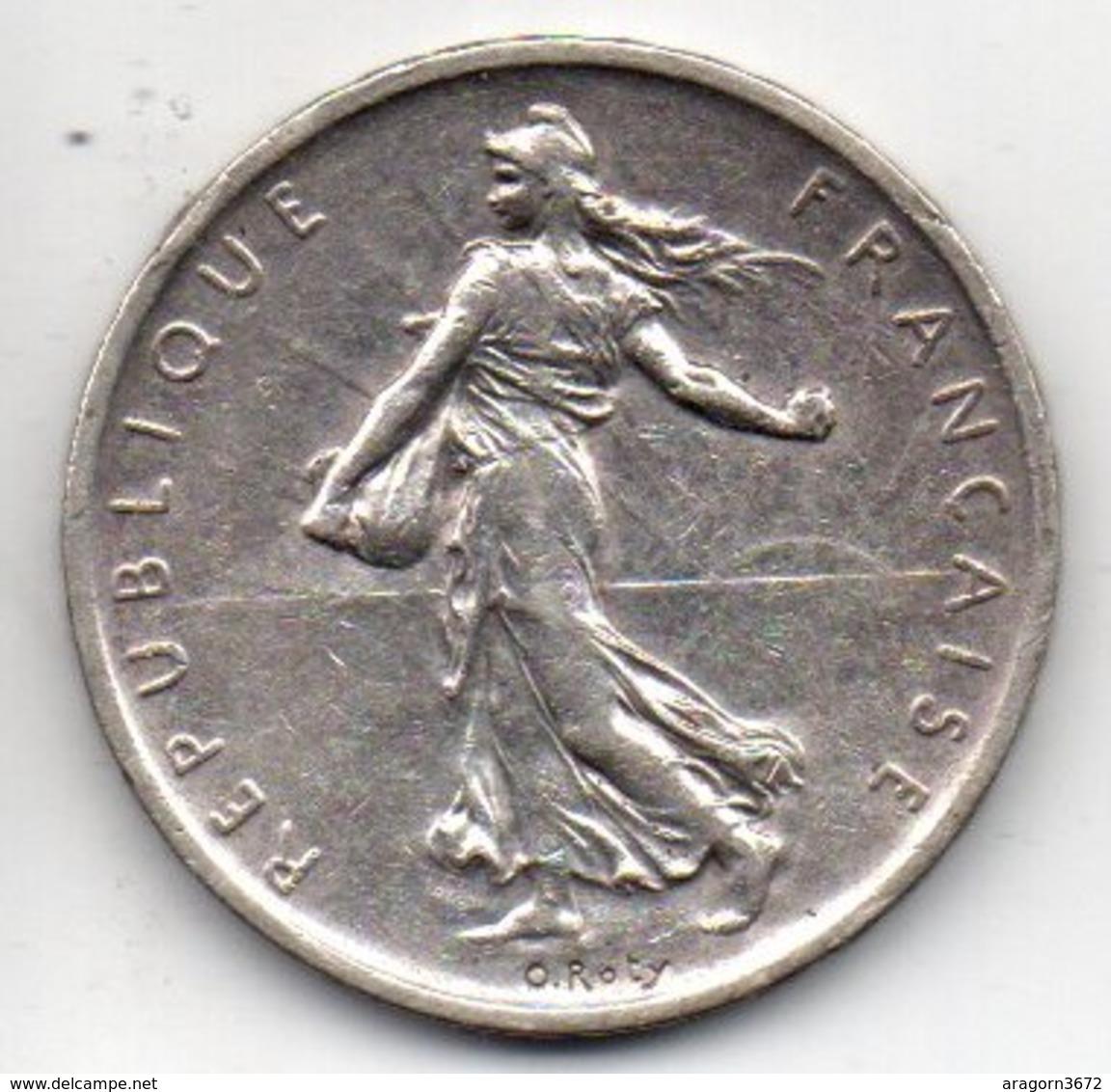 5 Fr Semeuse De 1965 Argent - France