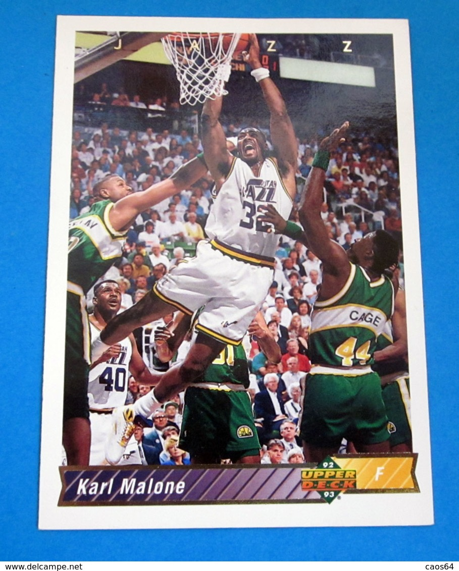 KARL MALONE   CARDS NBA FLEER 1993 N 248 - Trading Cards