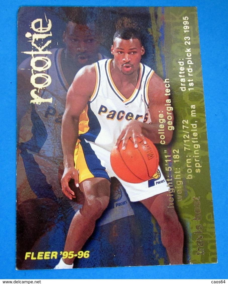 TRAVIS BEST   CARDS NBA FLEER 1996 N 353 - Altri