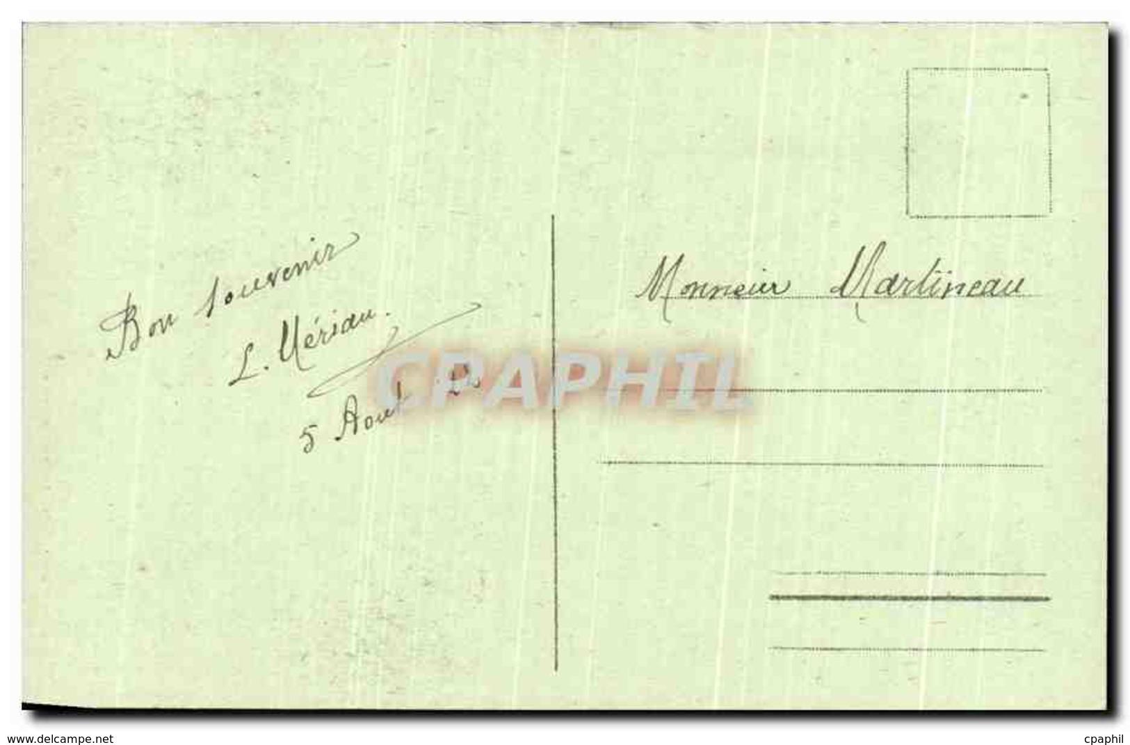 CPA La Foret De Mervent La Vallee De L&#39Erable - France