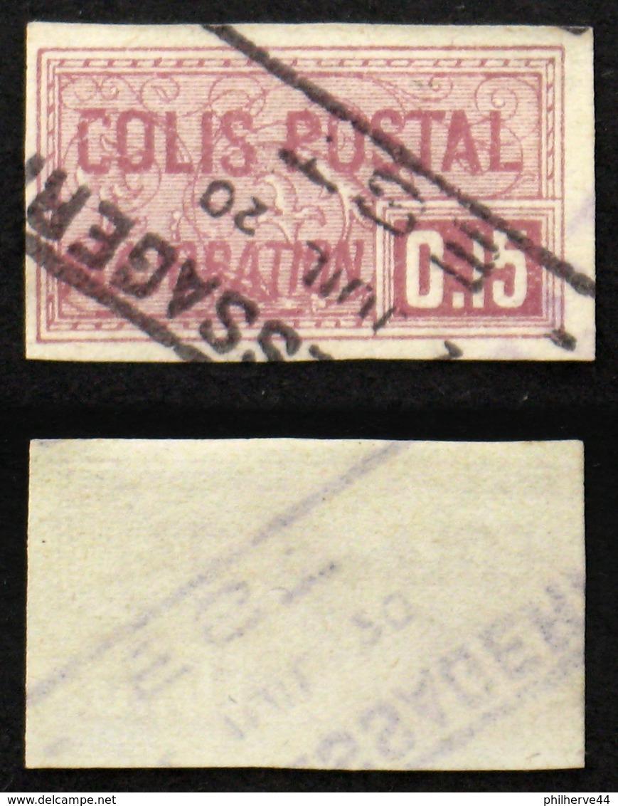 COLIS POSTAUX N° 24 Oblit TB Cote 18€ - Colis Postaux