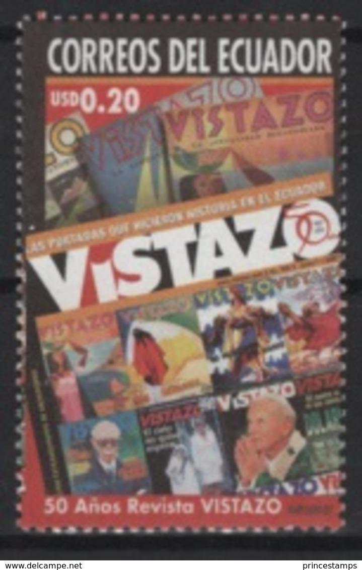 Ecuador (2007) Yv. 2072  /  Pope - Papa - John Paul II - Juan Pablo - Revista VISTAZO - Pausen
