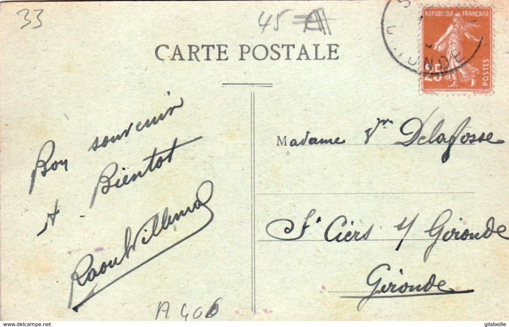 33 - Gironde -  SAINT SULPICE IZON  - La Gare - France