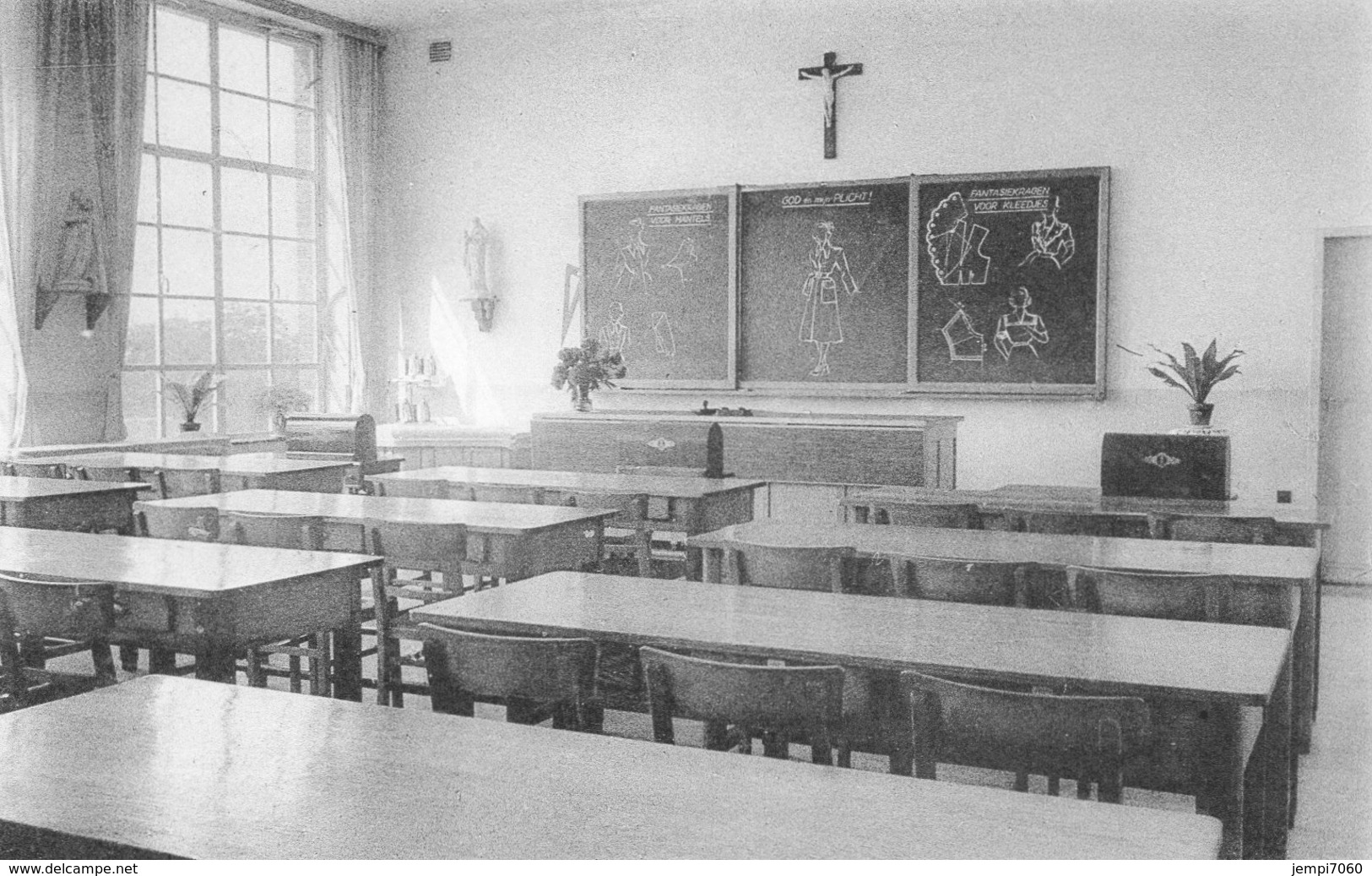 HEIST OP DEN BERG : Middelbare Beroepsschool E.E.Z.Z. Annonciaden Van Huldenberg (4 Verschillende Kaarten) - Heist-op-den-Berg