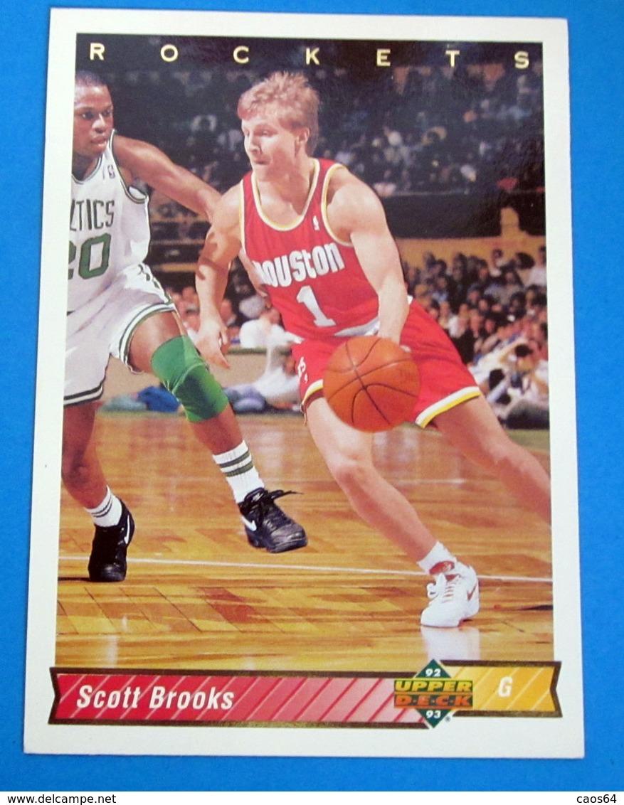SCOTT BROOKS NBA SUPER DECK 1993 N 163 - Altri