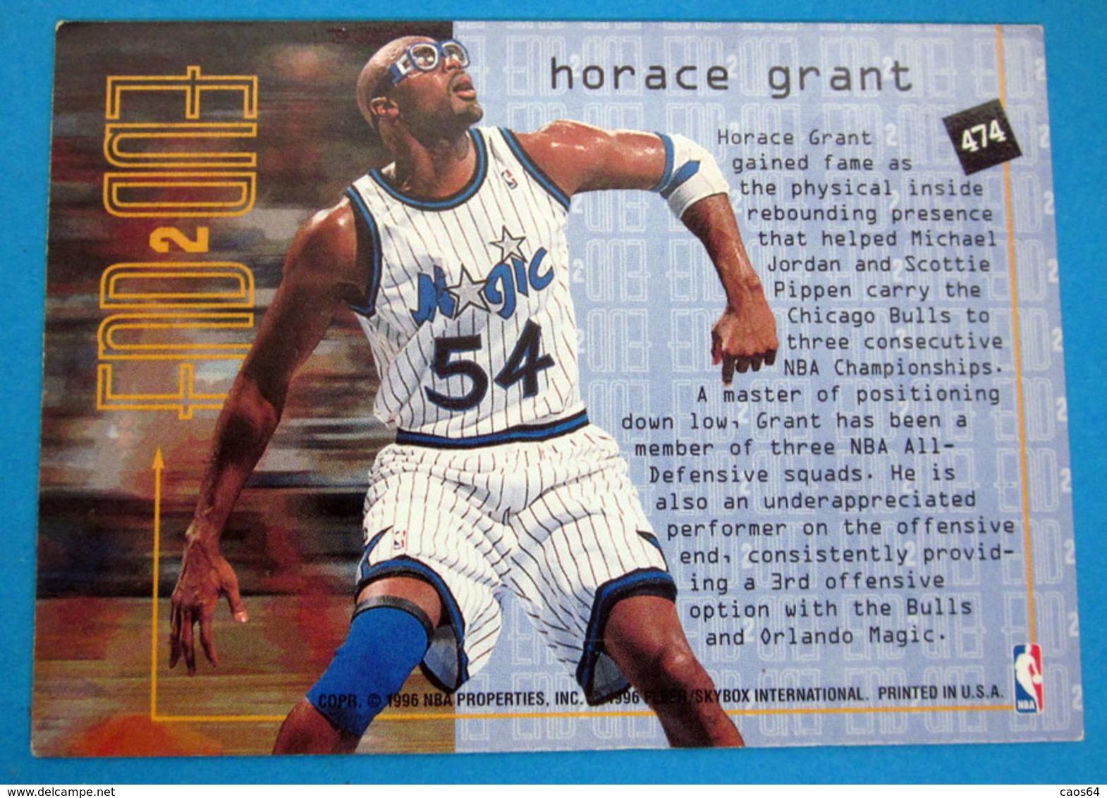 HORACE GRANT  CARDS FLEER 1996 N 474 - Trading Cards
