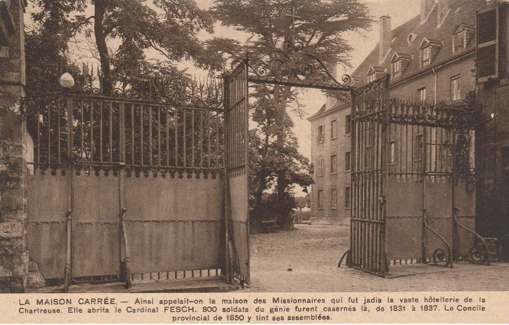 10-3------dijon----maison Carree Ainsi Appelait On La Maison Des Missionnaires Vaste Hostellerie De La Chartreuse - Dijon