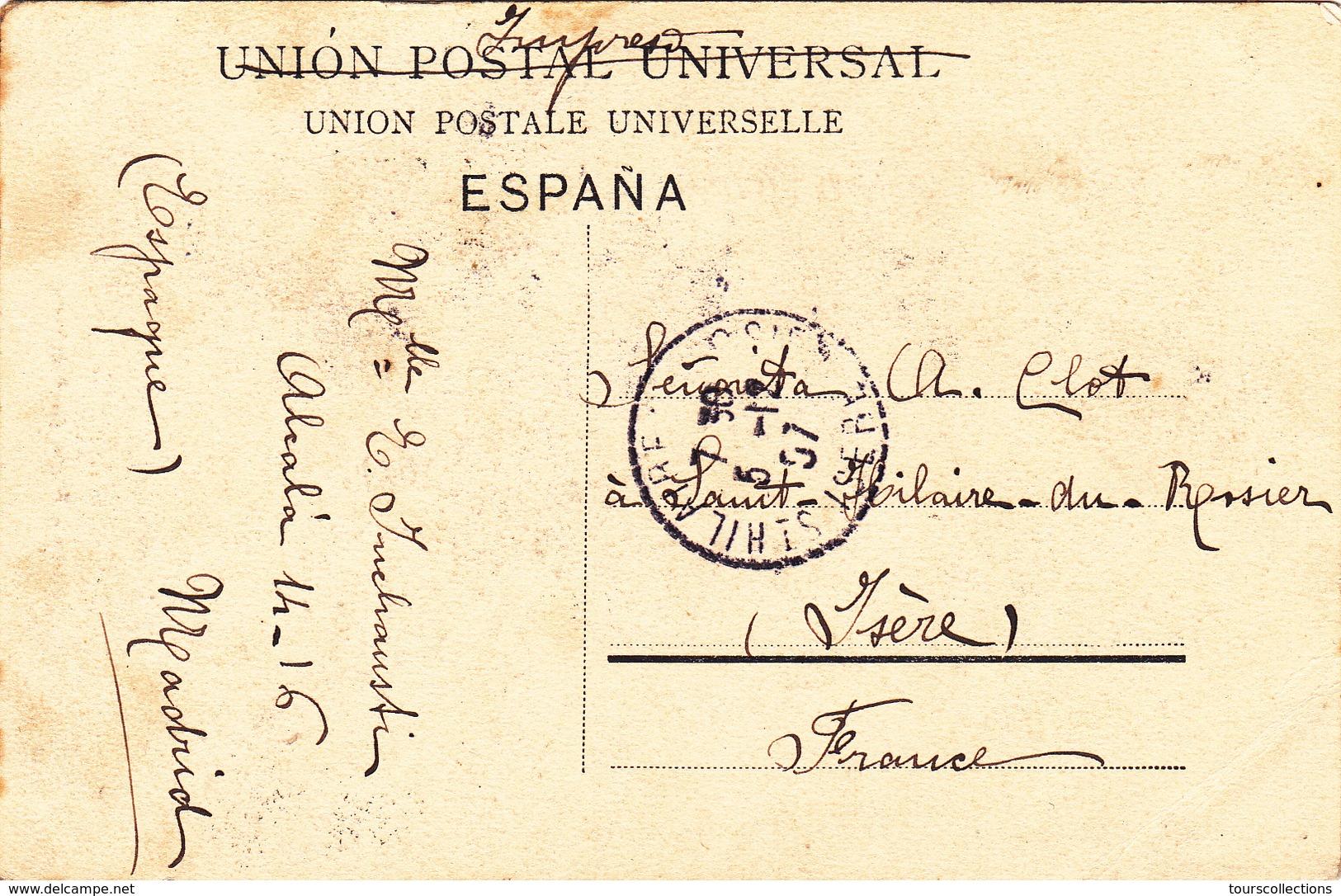 CPA ESPAGNE - MADRID - Plaza De Provincia En 1907 - Madrid