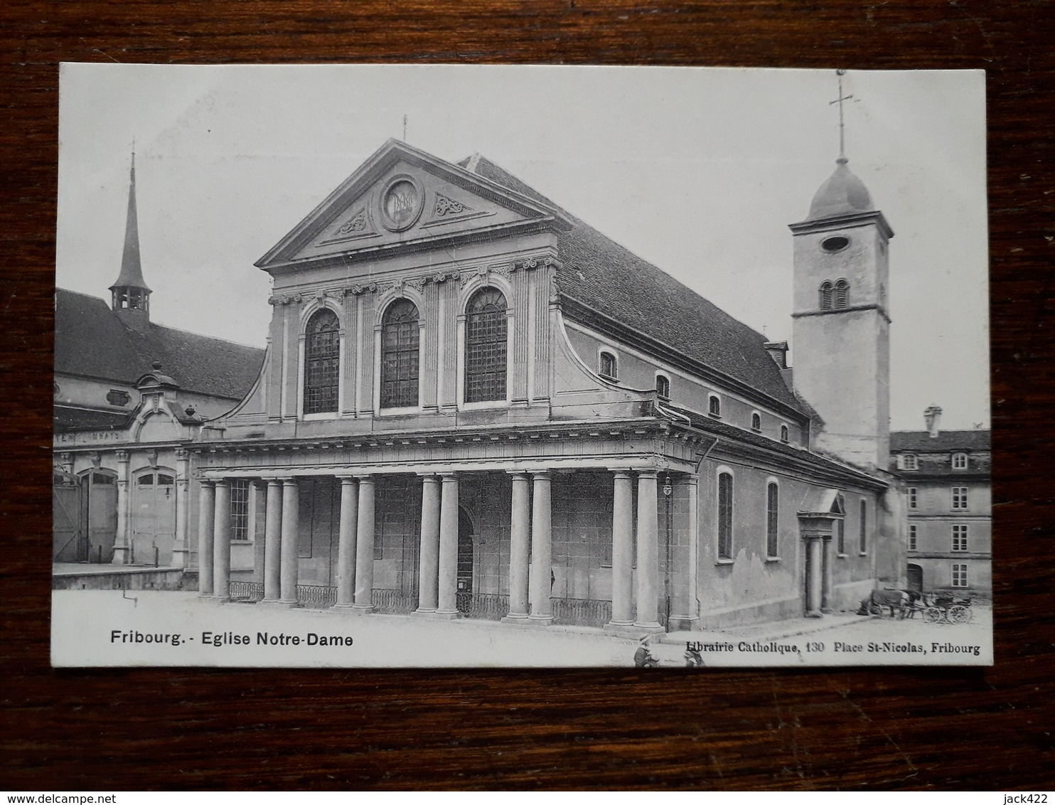 Suisse. Fribourg. Eglise Notre Dame - FR Fribourg
