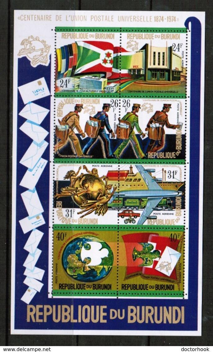 BURUNDI   Scott # C 202c** VF MINT NH Souvenir Sheet (SS-386) - Burundi