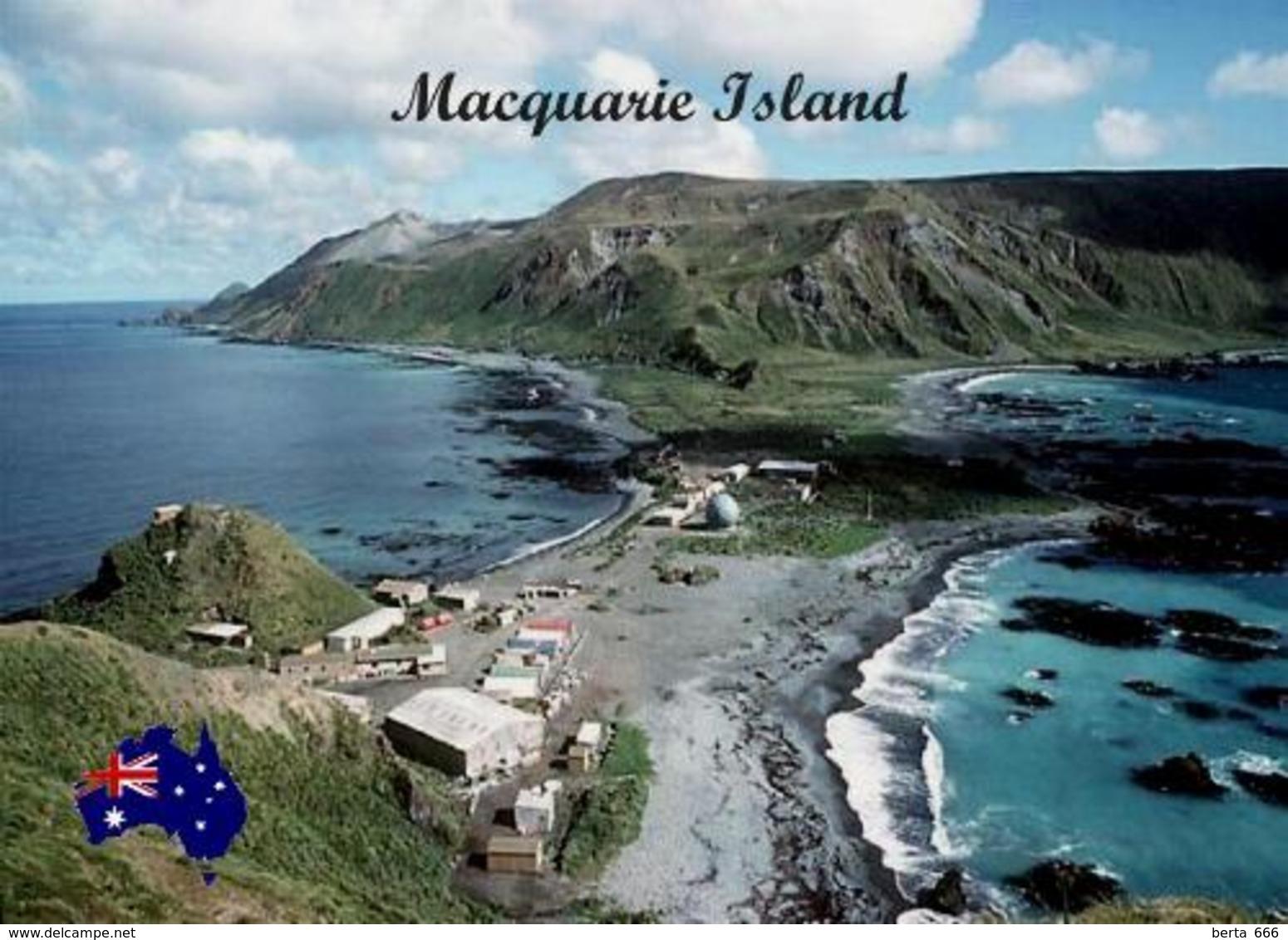 Macquarie Island Aerial View UNESCO Australia New Postcard - Australien
