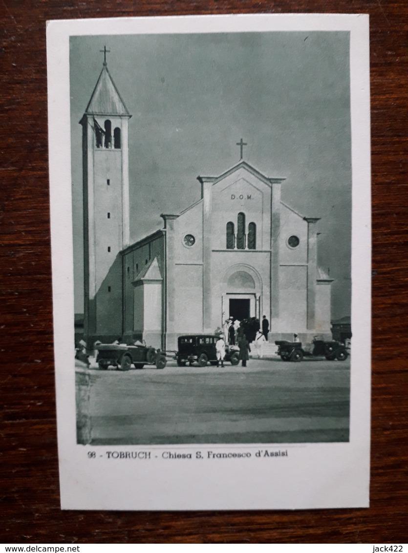 Libye. Tobruch. Chiesa S. Francesco D'Assisi - Libya