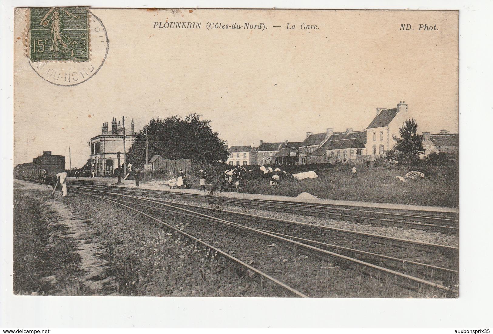 PLOUNERIN - LA GARE - 22 - France