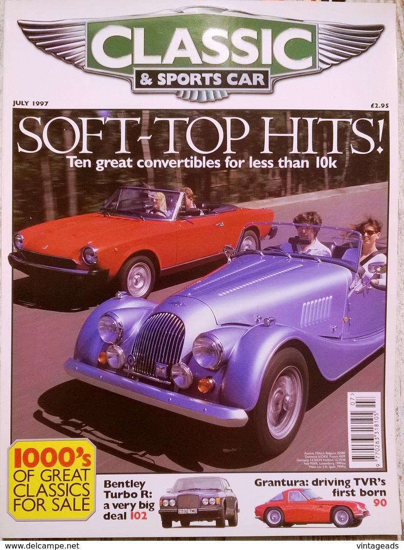 CA021 Autozeitschrift Classic & Sports Car, Juli 1997, Englisch, Neuwertig - 1950-Hoy