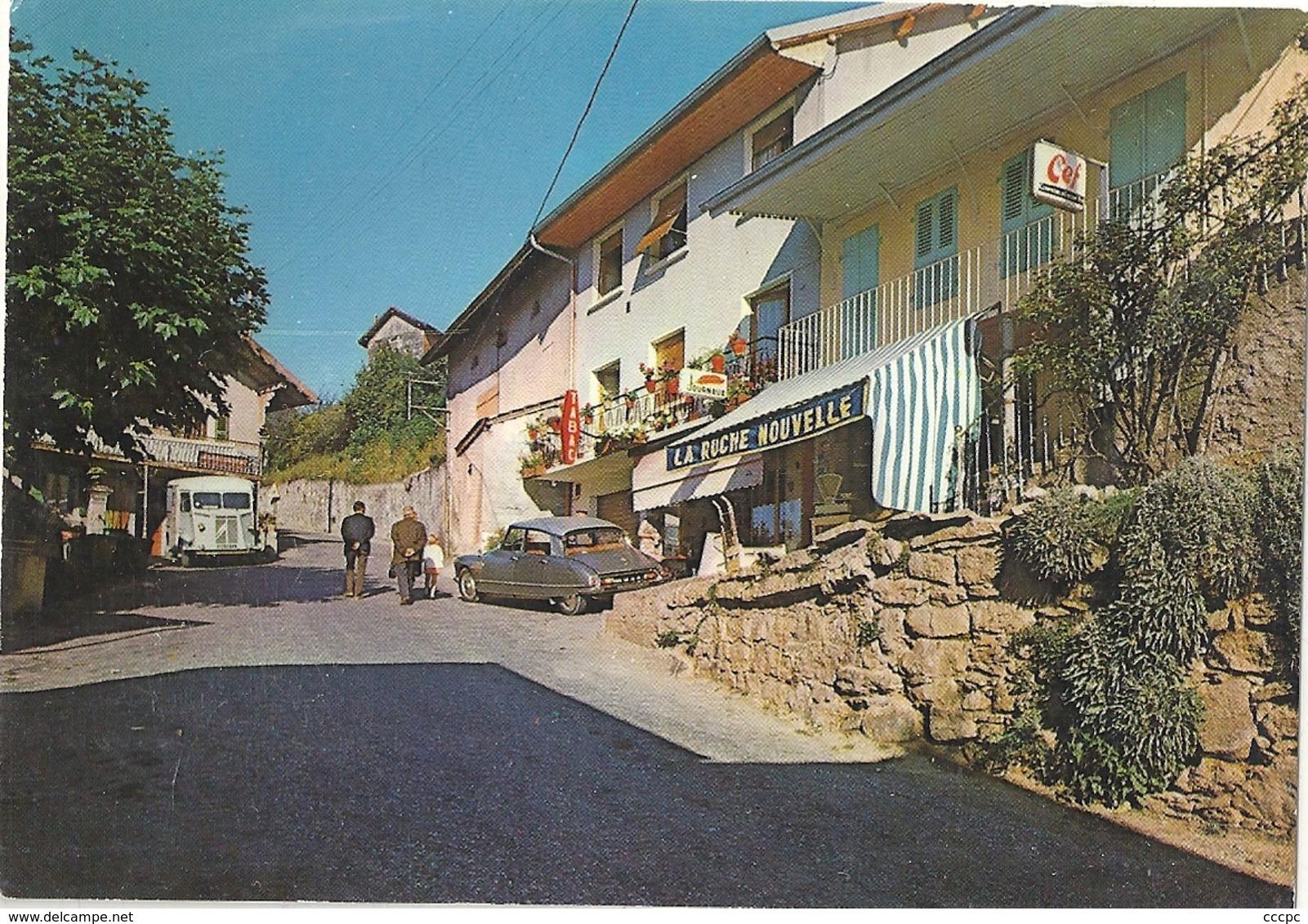 CPSM Mornex Rue Des Commerces - France