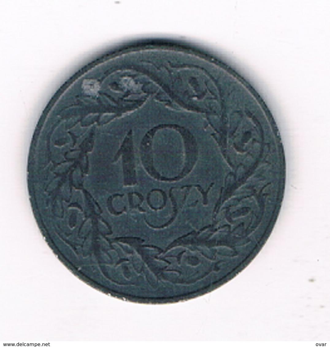 10 GROSZY 1938-1939 (gubernator) POLEN /3083/ - Poland