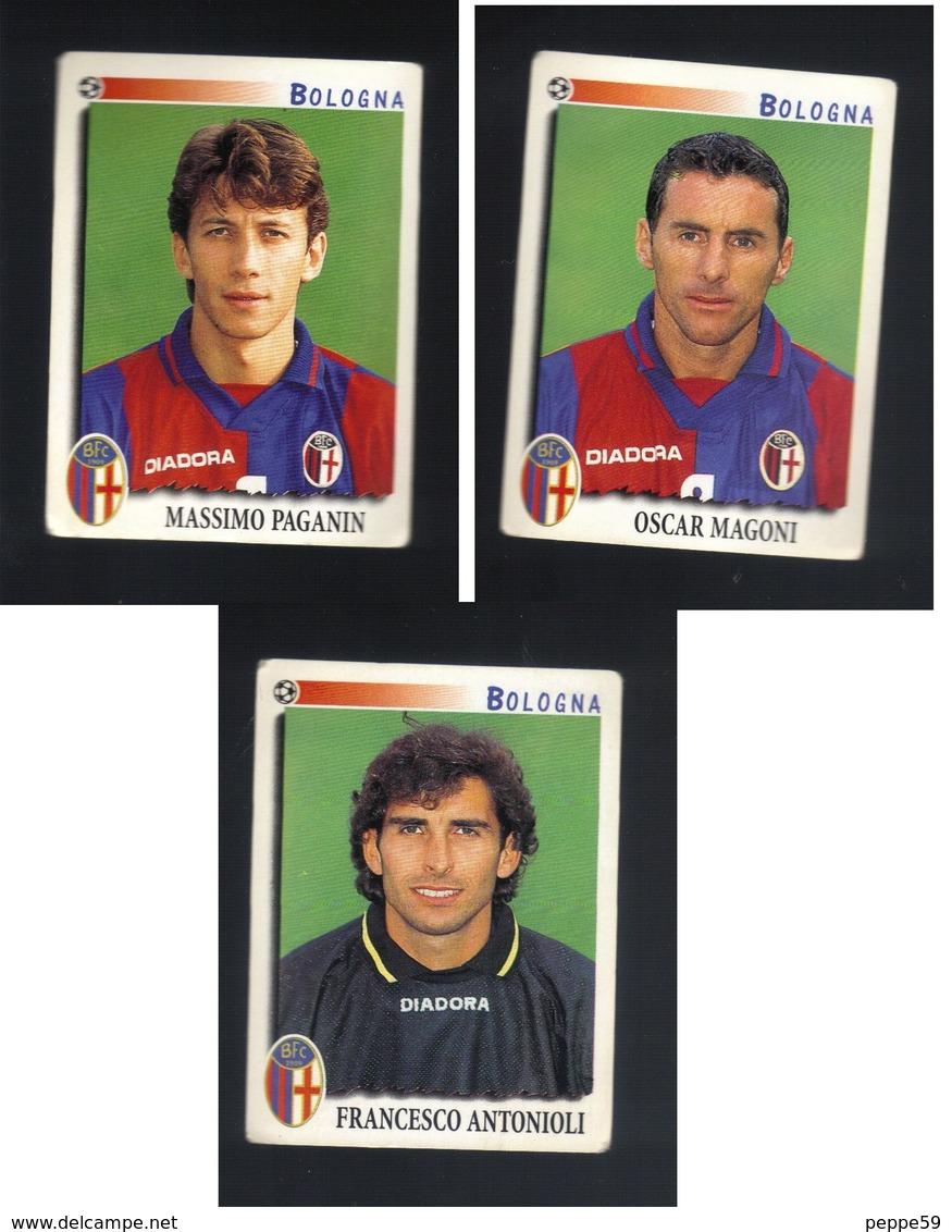 Calciatori Panini 1997-1998 - Bologna 3 Figurine - Panini