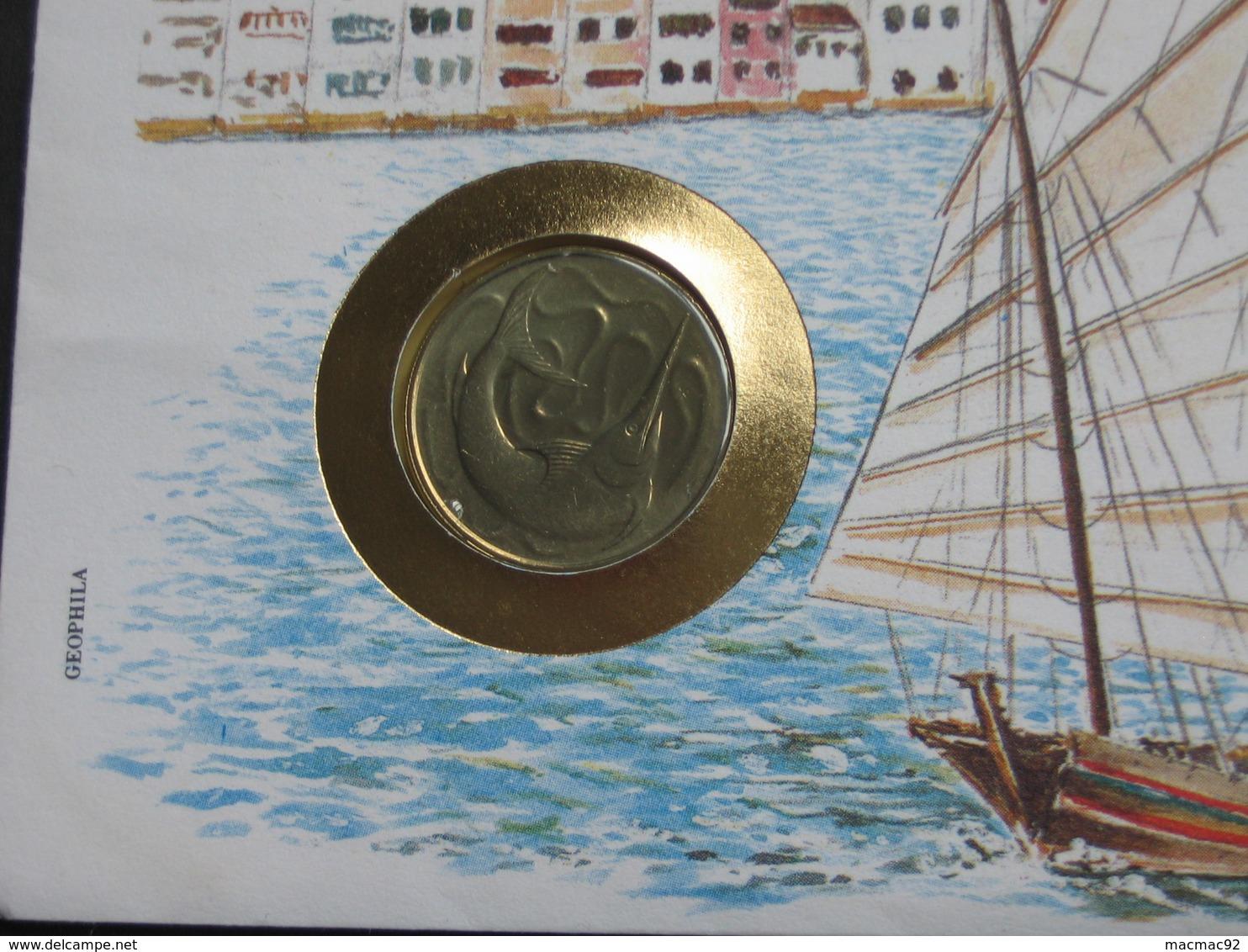 SINGAPORE - 20 Cents 1984  - Monnaie Sur Enveloppe   **** EN ACHAT IMMEDIAT **** - Singapour