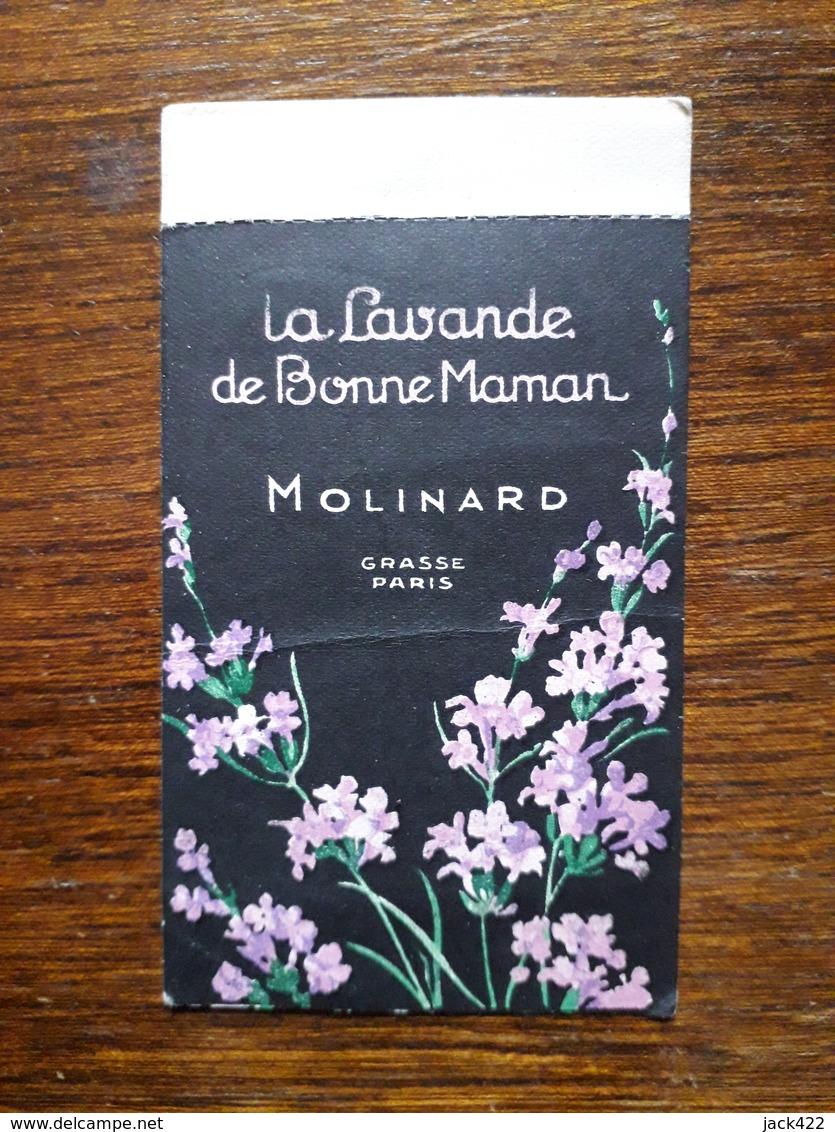 L18/153 Petite Carte Publicitaire . Parfumerie Molinard. Grasse. Paris. - Perfume & Beauty