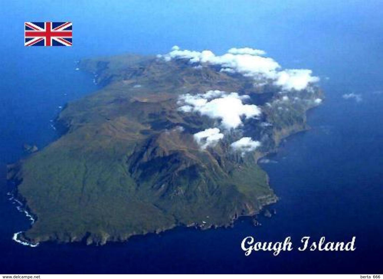 Tristan Da Cunha Gough Island UNESCO Aerial View New Postcard - Ansichtskarten