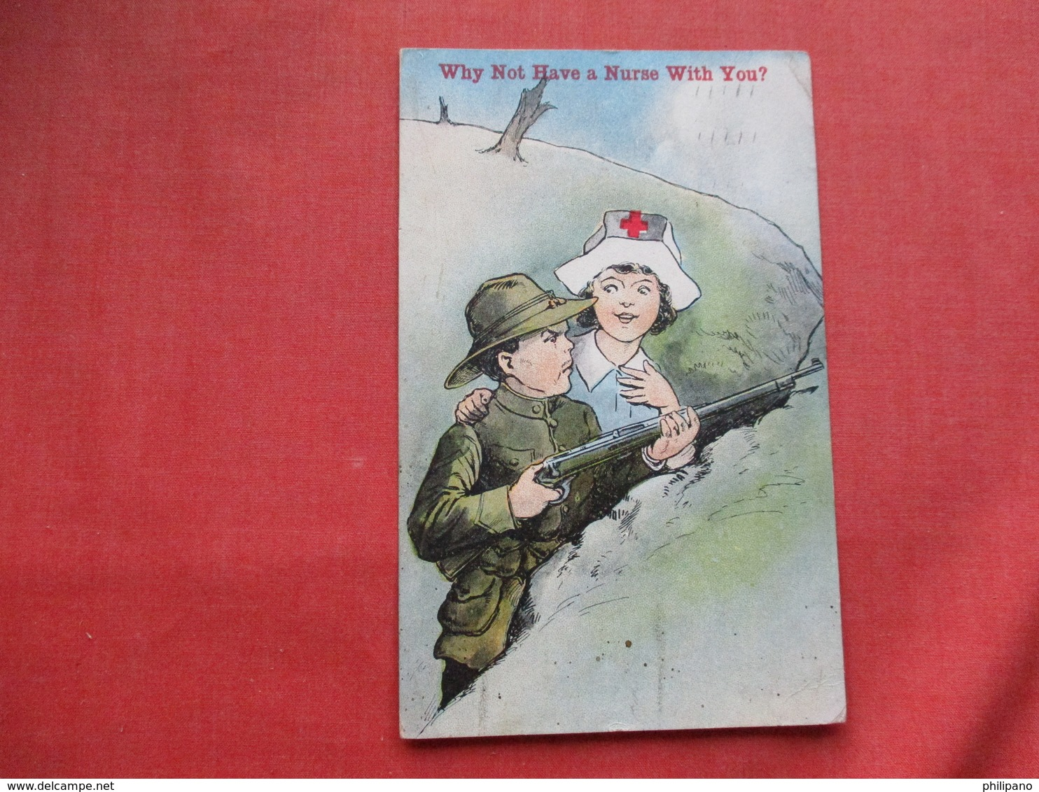 Why Not Have A Nurse With You ? Ref 3266 - Red Cross
