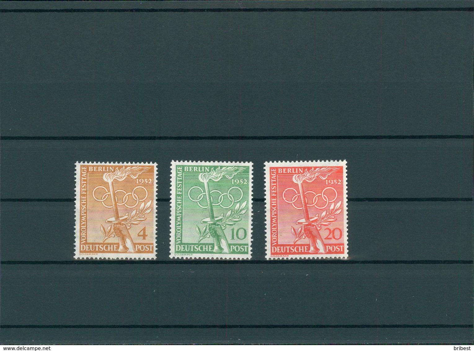 BERLIN 1953 Nr 88-90 Postfrisch (200080) - Ohne Zuordnung