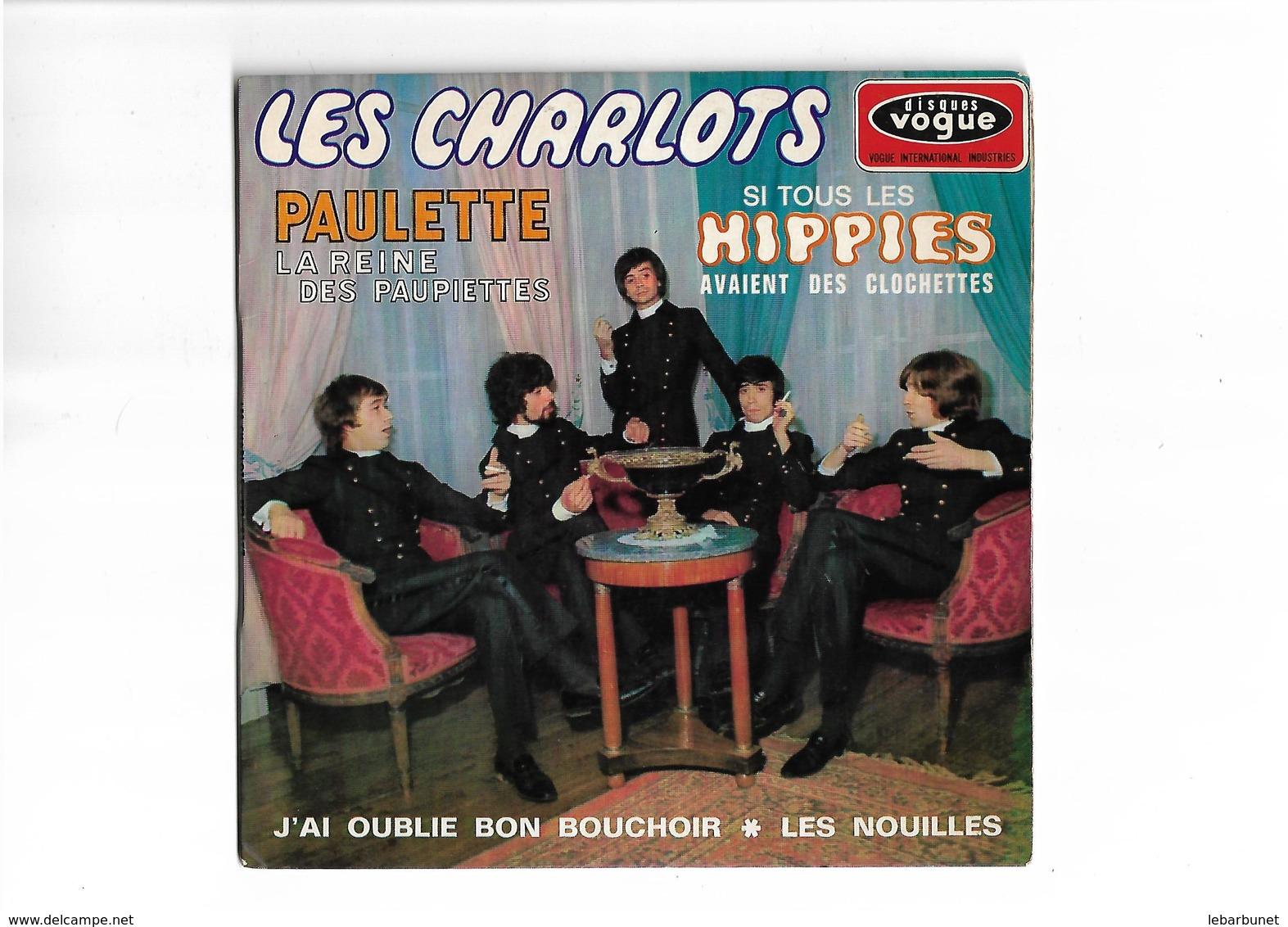 Disque 45 T   Les Charlots  4 Titres - 45 T - Maxi-Single