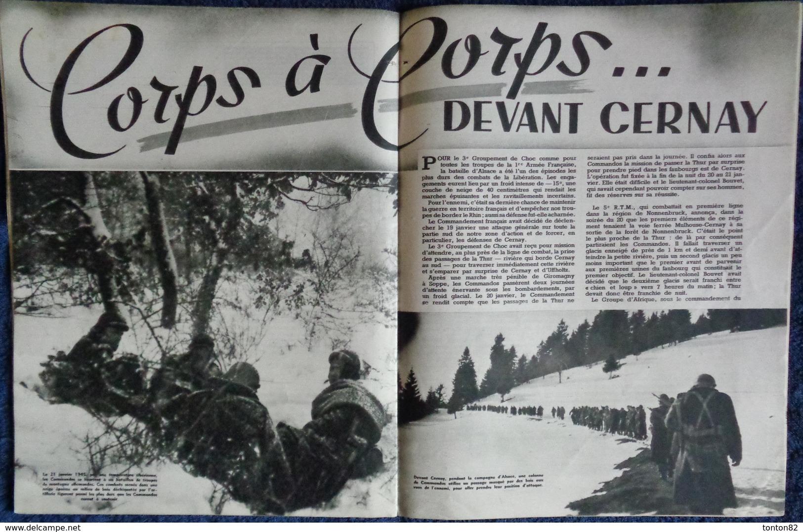 L'Armée Française Au Combat- COMMANDOS D' AFRIQUE - Édité Par Le Service D'Information Du Ministère Des Armées -(1946) . - Weltkrieg 1939-45