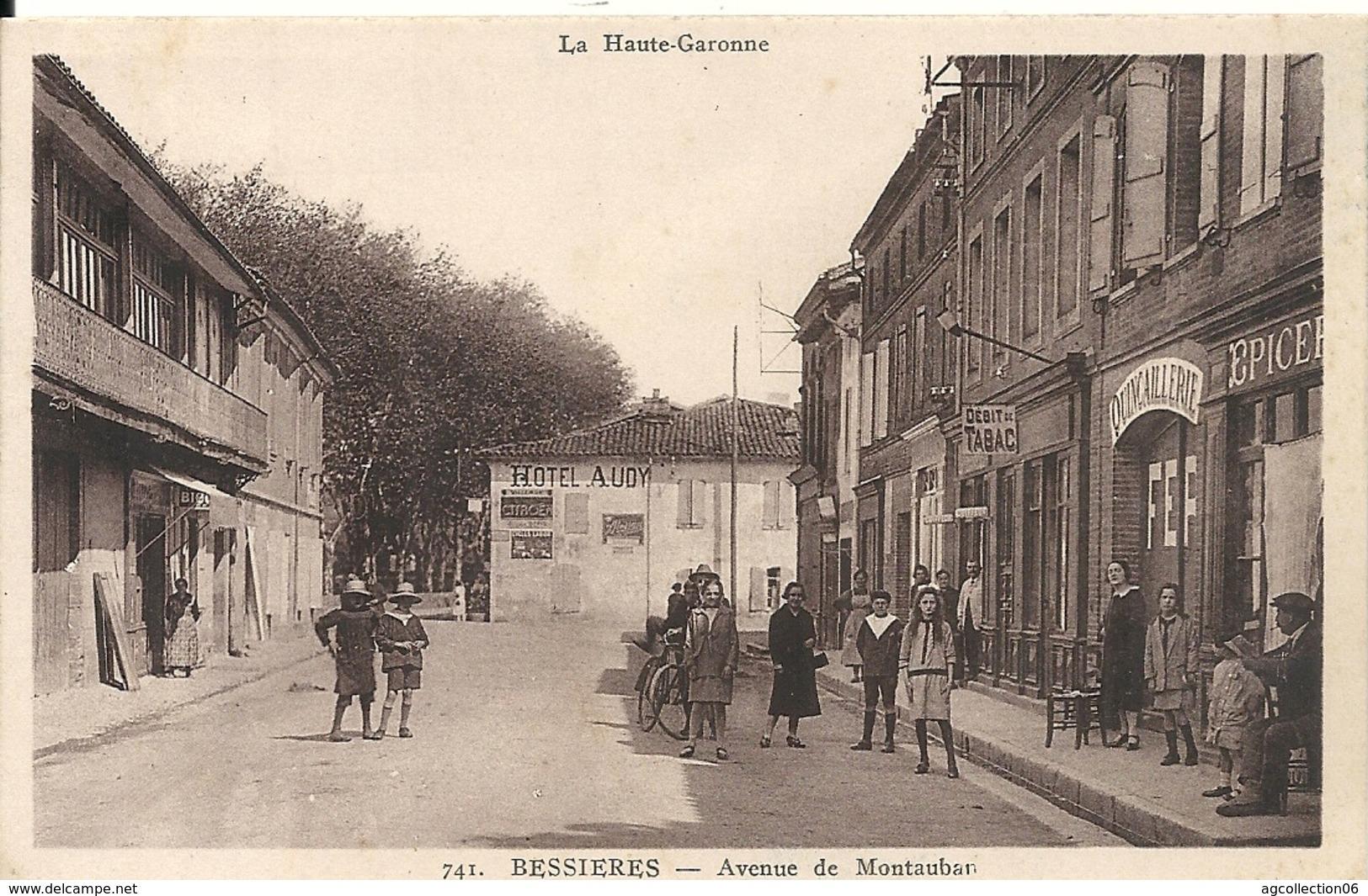 *BESSIERES. AVENUE DE MONTAUBAN. AVEC TABAC - Other Municipalities