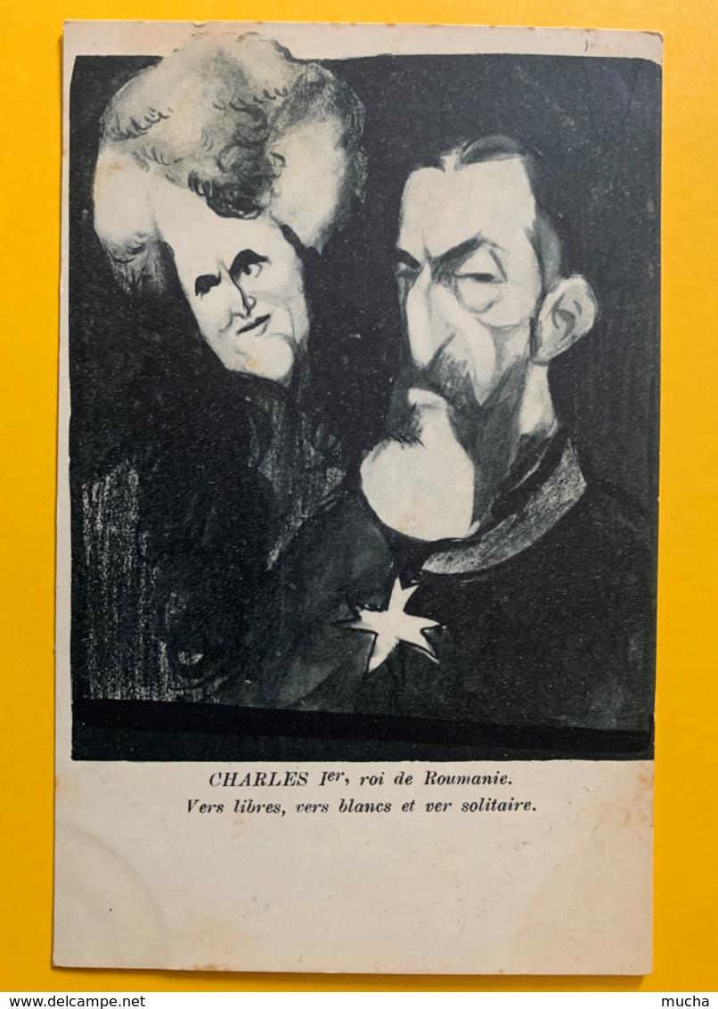 8212 - Politique-Satirique Charles 1er Roi De Roumanie Par Leal De Carma - Illustrateurs & Photographes