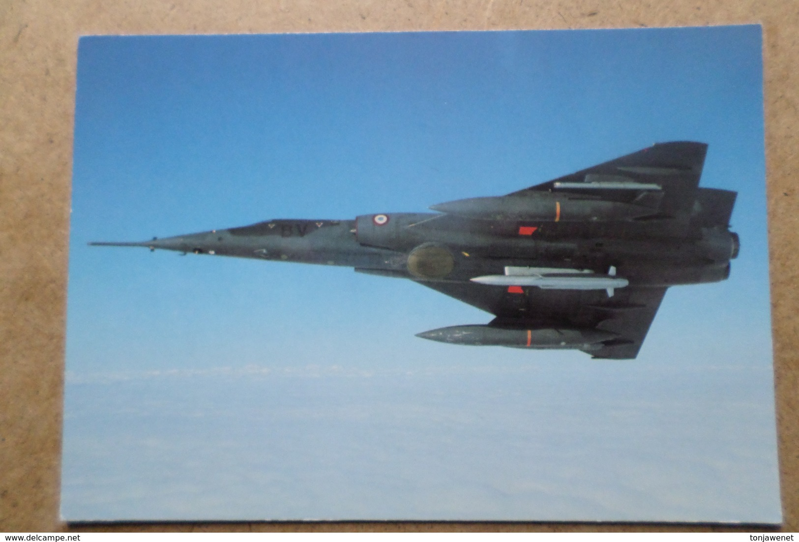 MIRAGE IV P De L'escadron De Bombardement 1/91 Gascogne De Mont De Marsan ( Avion, Aviation, Armée De L'Air ) - 1946-....: Ere Moderne