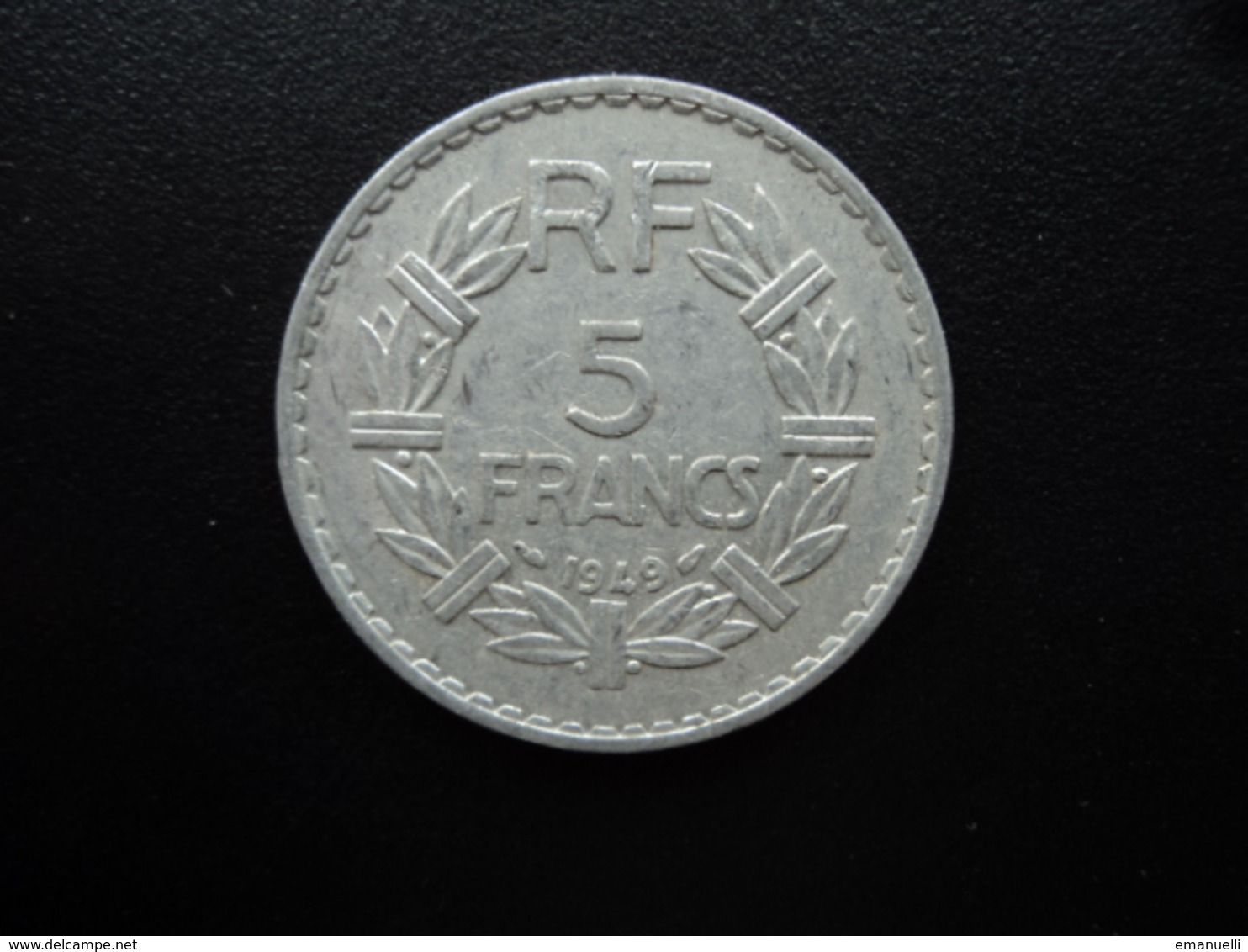 FRANCE : 5 FRANCS   1949   F.339.17 * / KM 888b.1     SUP - France
