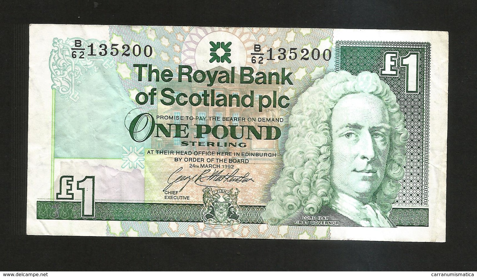 SCOTLAND - THE ROYAL BANK Of SCOTLAND - 1 POUND (1992) - Scozia
