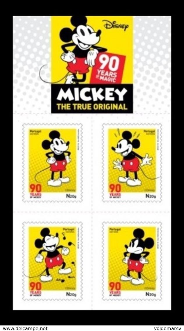 Portugal 2018 Mih. 4429/32 Mickey Mouse (self-adhesive) MNH ** - 1910-... Republik