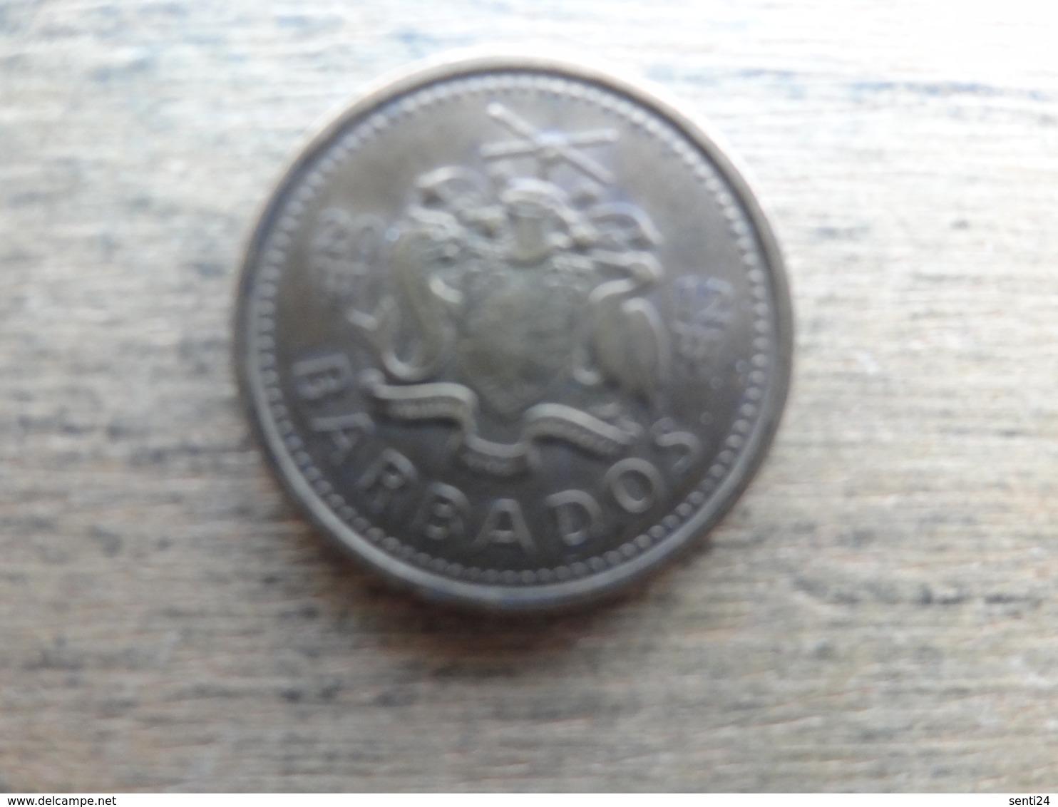 Barbades  5  Cents  2012  Km !!! - Barbados