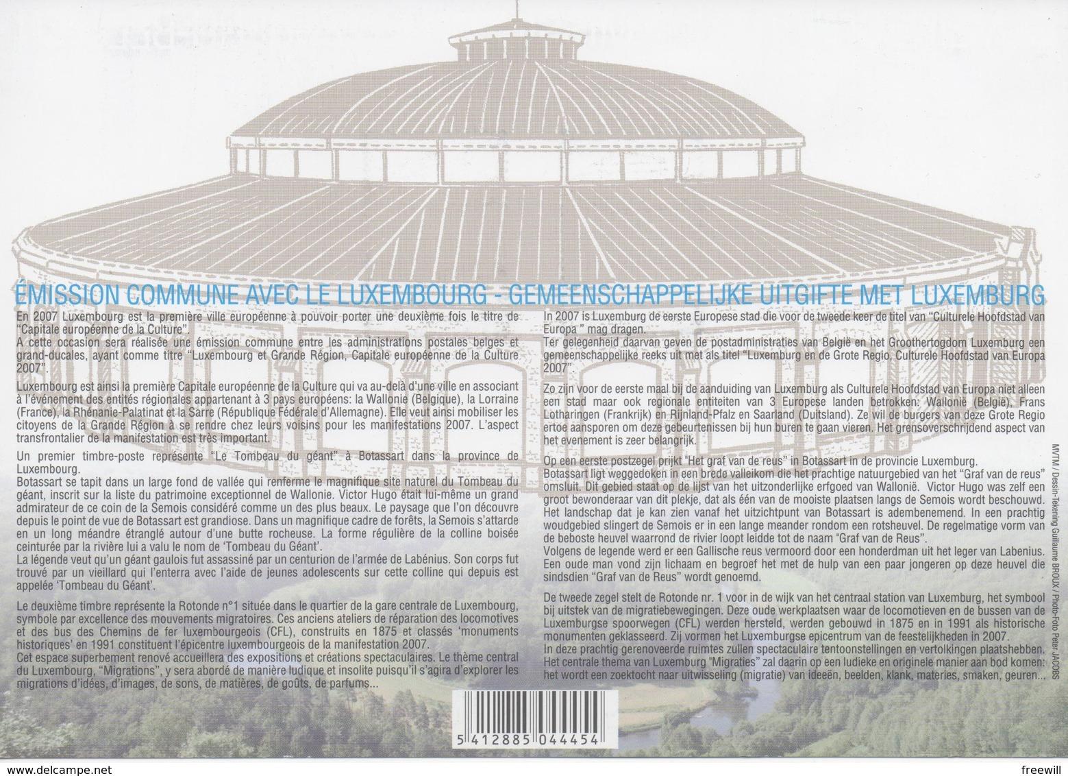 Emission Commune Avec Le Luxembourg - Documents De La Poste